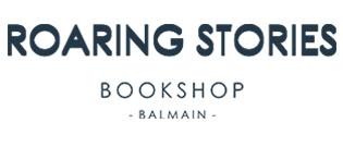Roaring Stories Book shop logo