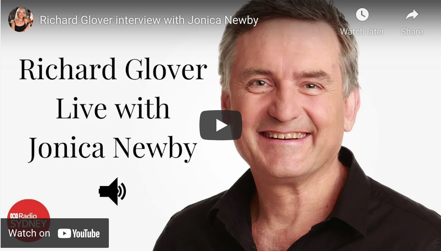 Video - Richard Glover with Jonica Newby