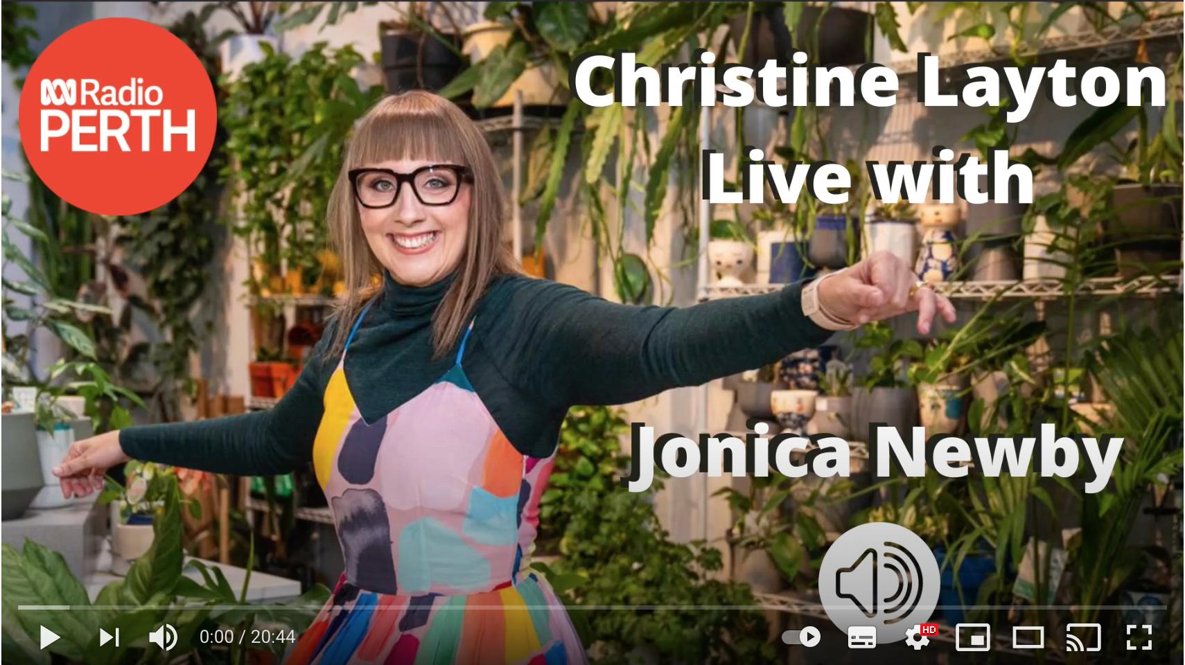 Christine Layton Live with Jonica Newby